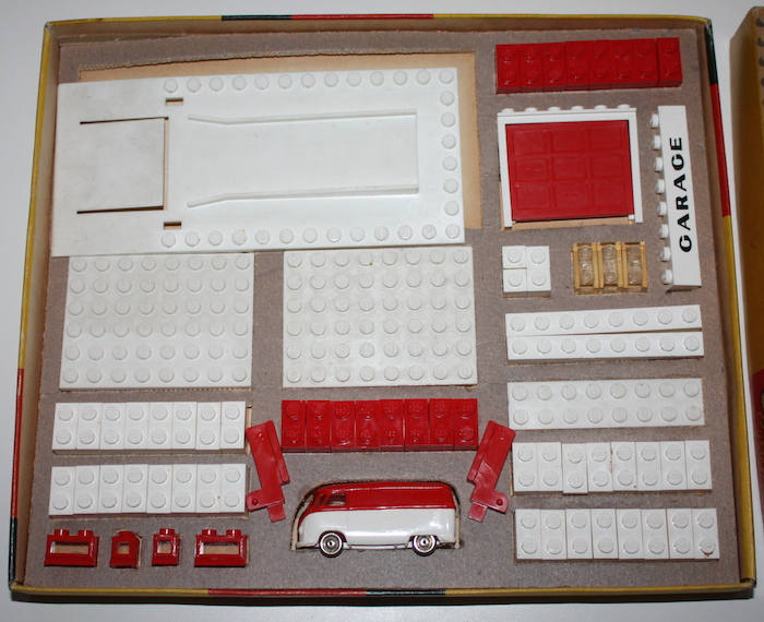 Lego Vintage Set 236 Garage With Automatic Door 1958
